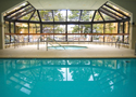 Photo of interior of a pool enclosure