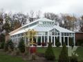 Photo of exterior of a pool enclosure